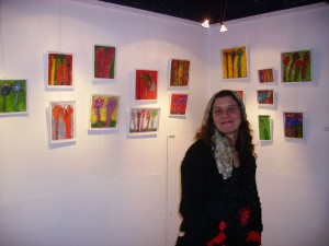 Nadya Olcer artiste peintre